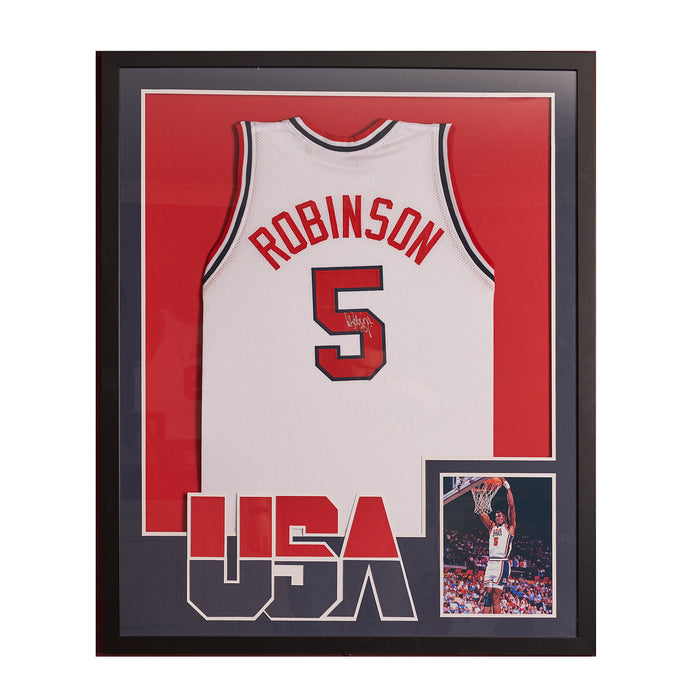 David Robinson Dream Team autographed jersey