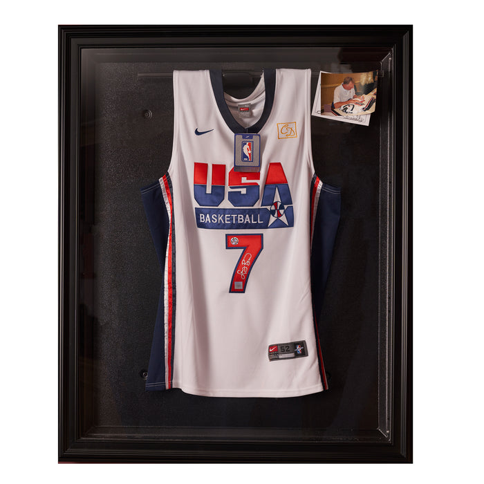 Larry Bird Team USA autographed jersey