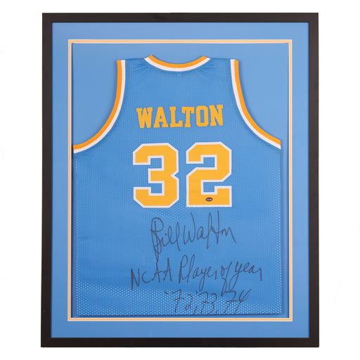"Bill Walton autographed "" NCAA Player of the Year"""