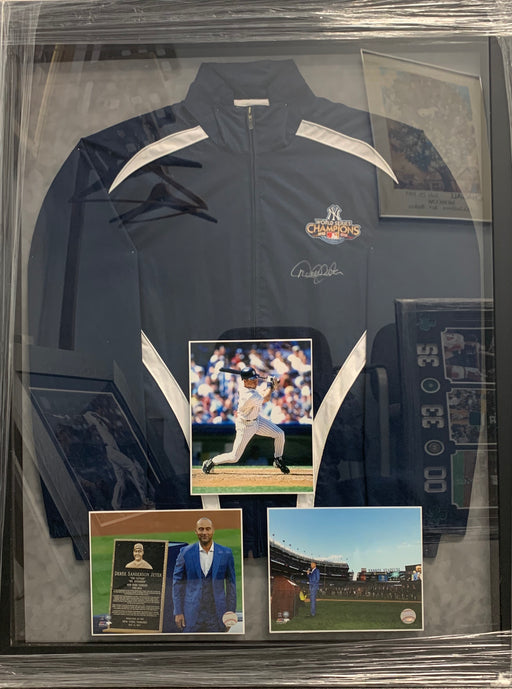 Derek Jeter autographed 2009 World Series warm up jacket