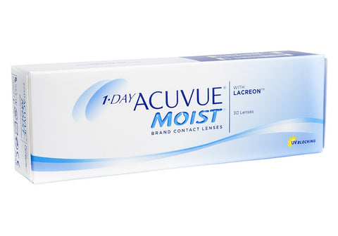 1 Day Acuvue MOIST 30er Box BC 9,0