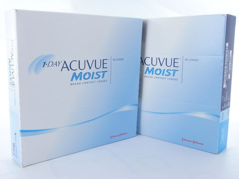 1 Day Acuvue MOIST 180er Box BC 9,0