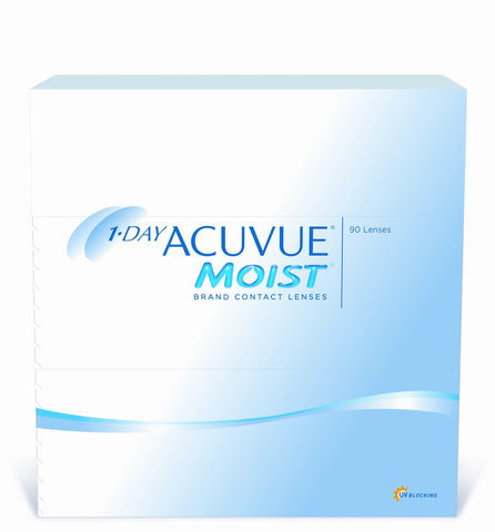 1 Day Acuvue MOIST 90er Box BC 9,0
