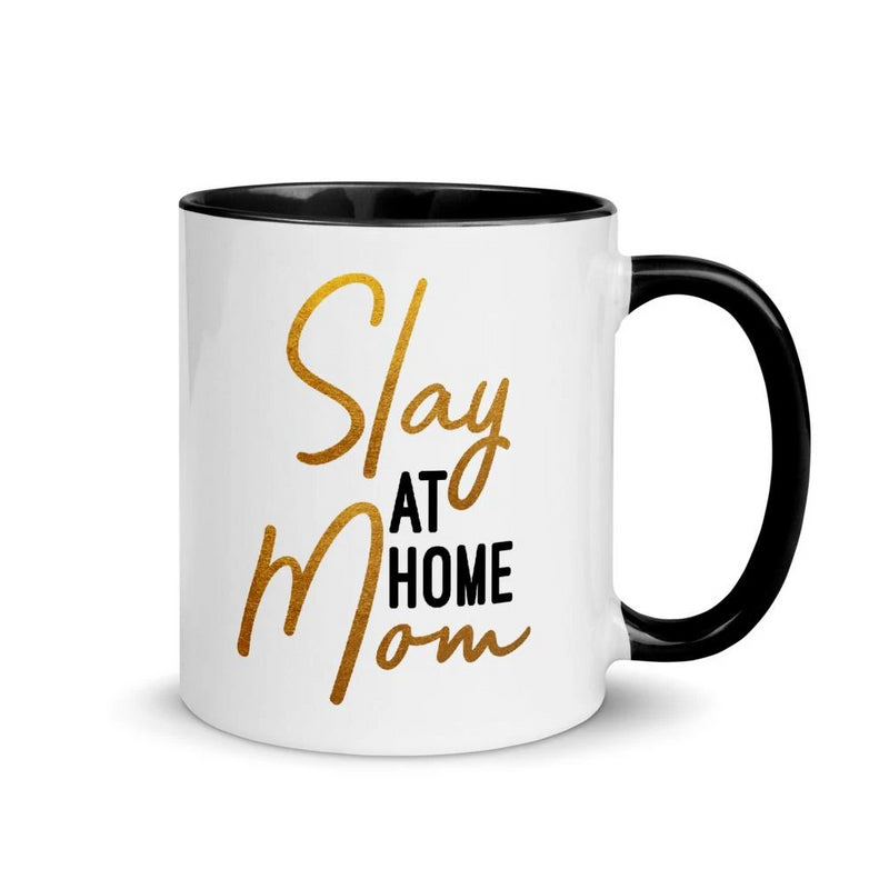 Slay At Home Mom - 11oz Accent Mug
