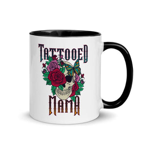 Tattooed Mama - 11oz Accent Mug