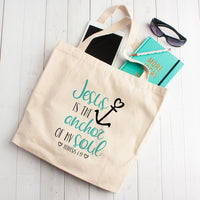 Jesus Is The Anchor Of My Soul - Tote Bag