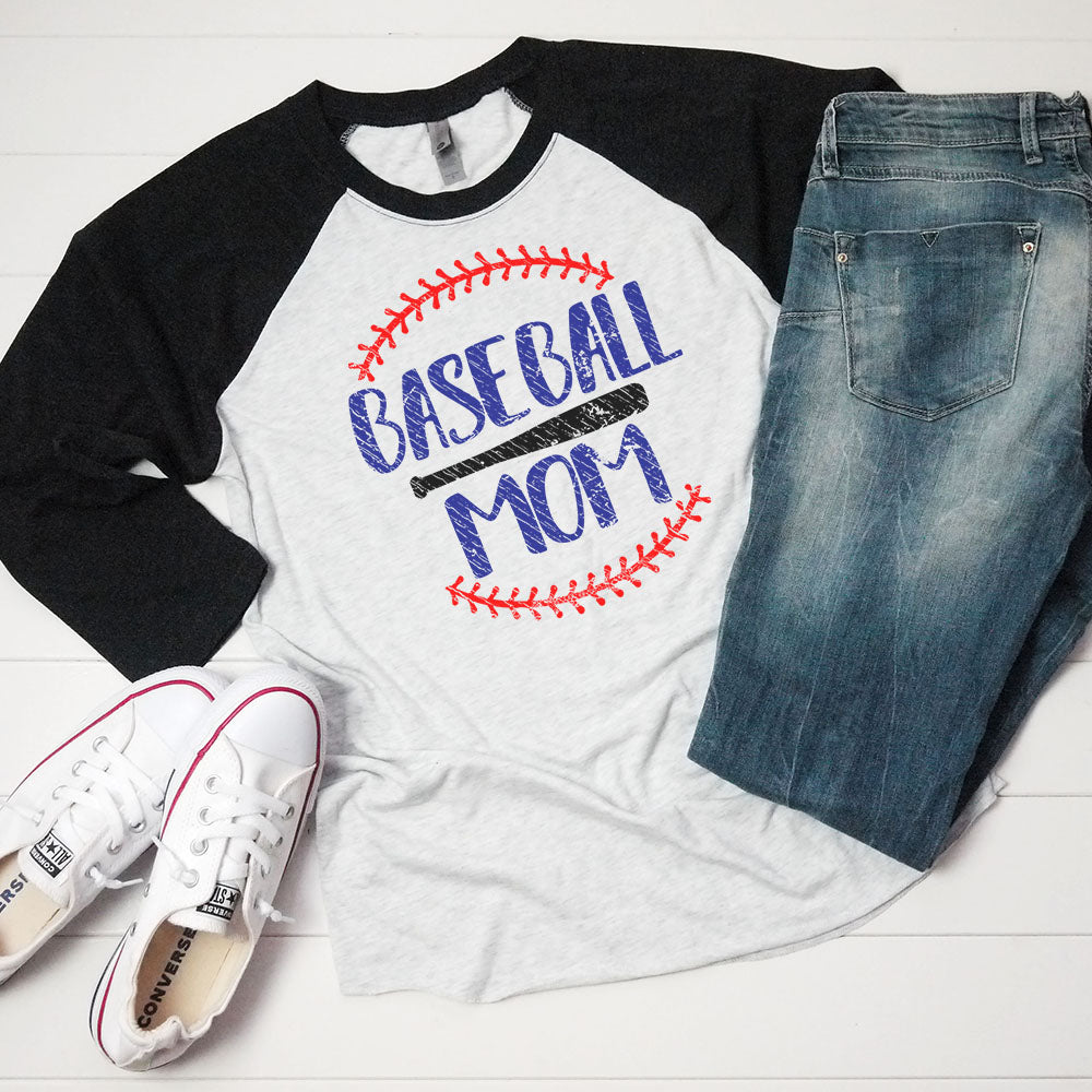 Baseball Mom - Raglan