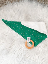 Load image into Gallery viewer, MISTLETOE Small Bandana Bib