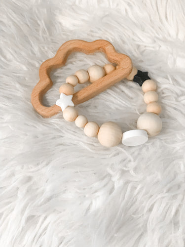 HEAD IN THE CLOUDS teething toy