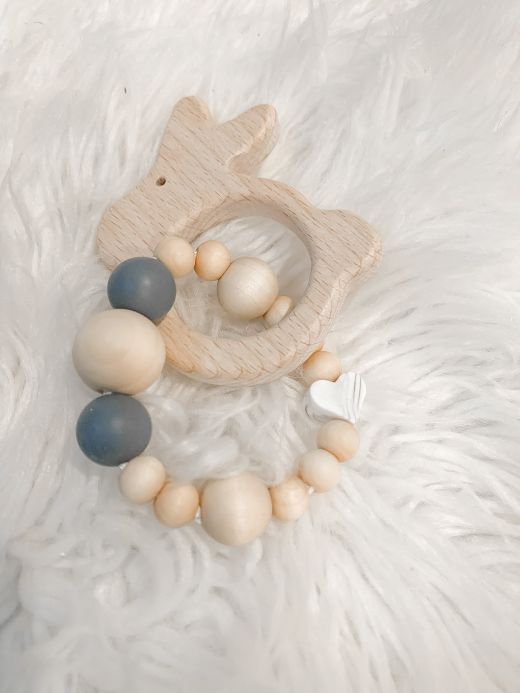 MARBLE BUNNY teething toy