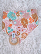 Load image into Gallery viewer, FLORAL OASIS Bandana Bib