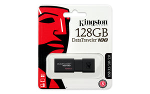 DT100G3/128GB - Pen Drive de 128GB USB 3.0 Data Traveler Série 100G3