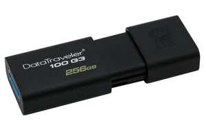 DT100G3/256GB - Pen Drive de 256GB USB 3.0 Data Traveler Série 100G3
