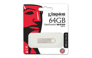 DTSE9G2/64GB - Pen Drive de 64GB USB 3.0 Data Traveler Série SE9 G2
