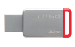 DT50/32GB - Pen Drive de 32GB USB 3.0 Data Traveler Série 50
