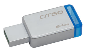 DT50/64GB - Pen Drive de 64GB USB 3.0 Data Traveler Série 50