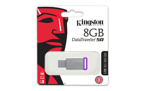 DT50/8GB - Pen Drive de 8GB USB 3.0 Data Traveler Série 50