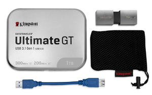 DTUGT/1TB - Pen Drive de 1TB USB 3.0 Data Traveler Série Ultimate GT
