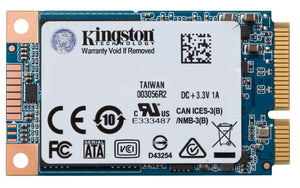 SUV500MS/120G - SSD de 120GB formato mSATA Série UV500 para desktop/notebook