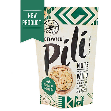 Pili Hunter Pili Nuts - Rosemary & Olive Oil