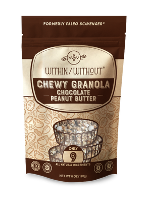 Within/Without Grain Free Granola - Chocolate Peanut Butter
