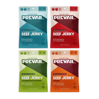 Prevail Beef Jerky - Variety Pack
