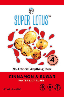 Super Lotus Cinnamon & Sugar Puffs