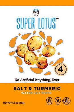 Super Lotus Salt & Turmeric Lotus Puffs