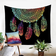 Dream Catcher Feather Tapestry