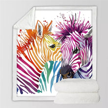 Safari Zebra Throw Blanket