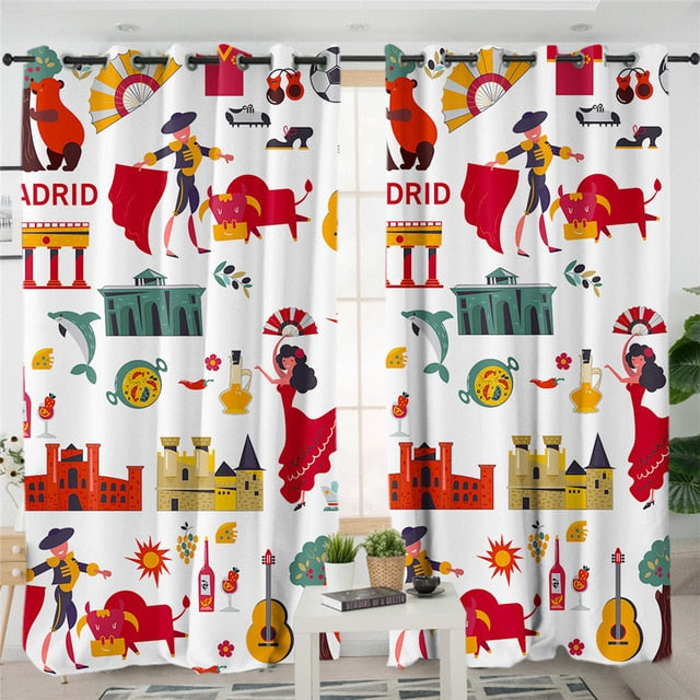 Spain Luxury Curtains