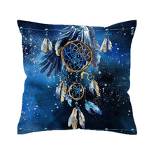 Feather Dream Catcher Cushion Cover