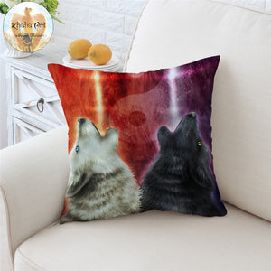 Wolves Cushion Cover