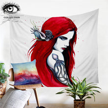 Pretty Red Head Tapestry