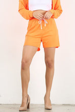 Load image into Gallery viewer, Neon Orange Jogger Short