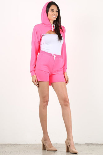 Hot Pink Style #1357 Hoodie (6pc)