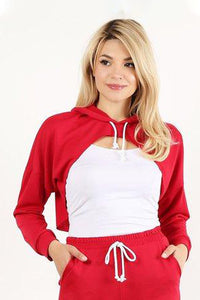 Red Style #1357 Hoodie (6pc)
