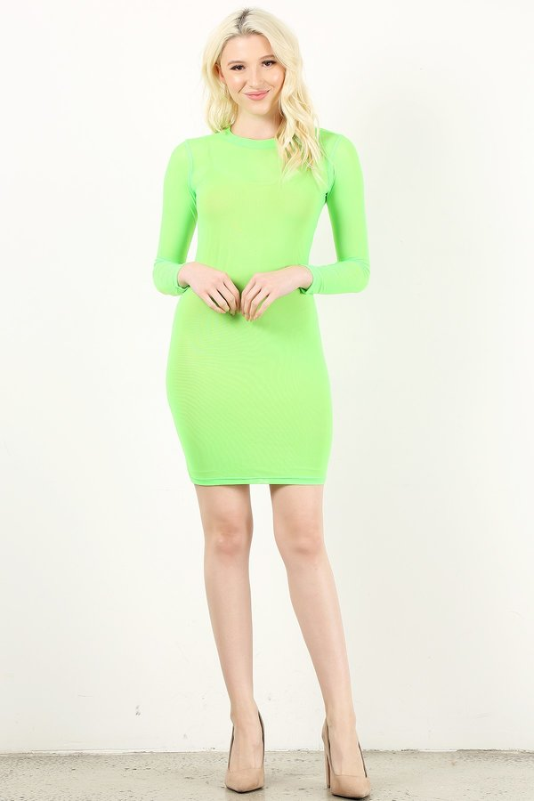 Neon Green Style #1359(6pc)