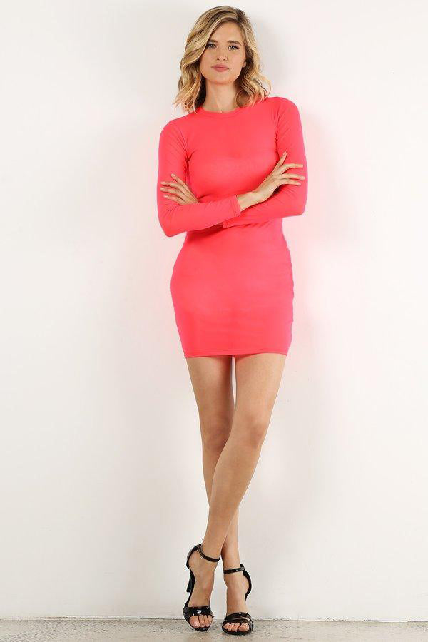Neon Pink Style#1359(6pc)