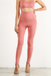 Peach Leggings