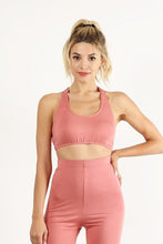 Load image into Gallery viewer, Peach Halter Top