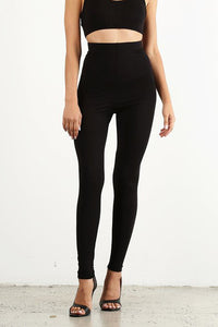 Black Leggings Style #1369 (6pcs)