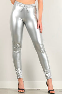 Silver Style #1374 Vinyl Joggers (6pc)