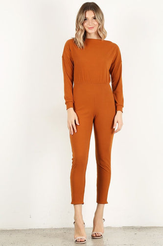 Copper Long Sleeve Unitard
