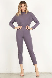 Dusty Lilac Long Sleeve Unitard