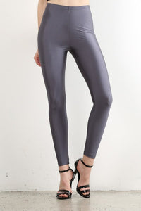 Black Shiny Disco Leggings (Bulk)
