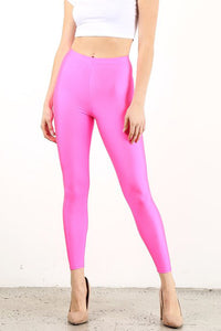 Neon Pink Shiny Disco Style #1992s (6pc)