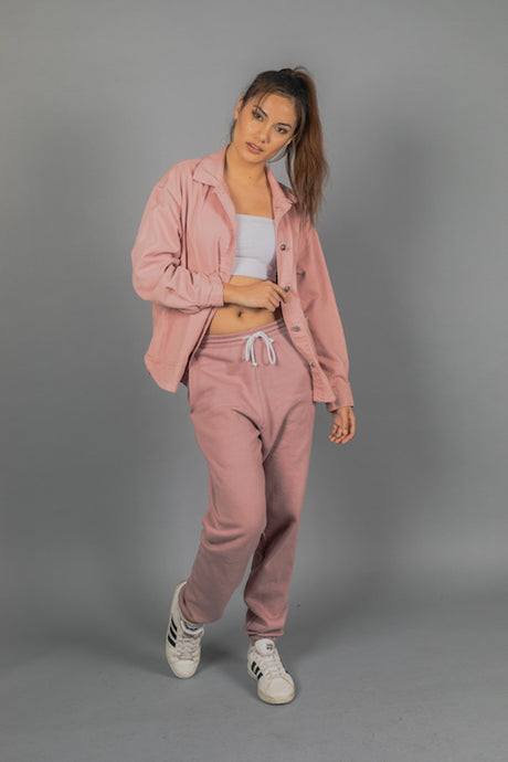 Dusty Pink Classic Sweat Pants