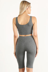 Heather Gray Style #2014 Set (6pc)