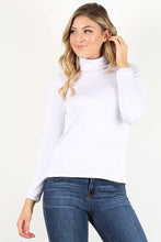 Load image into Gallery viewer, White Turtle Neck shirt